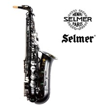 Fast Shipping DHL France Selmer Alto Saxophone R54 Professional Eb Gold Sax Mouthpiece With Case and Accessories