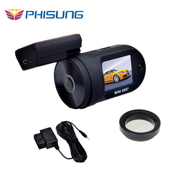 Ambarella A7 chips FHD1080P dash camera WDR Auto Video Registrator Recorder+Dual MemorySlot+OBD Park Guard car camera+CPL/GPS