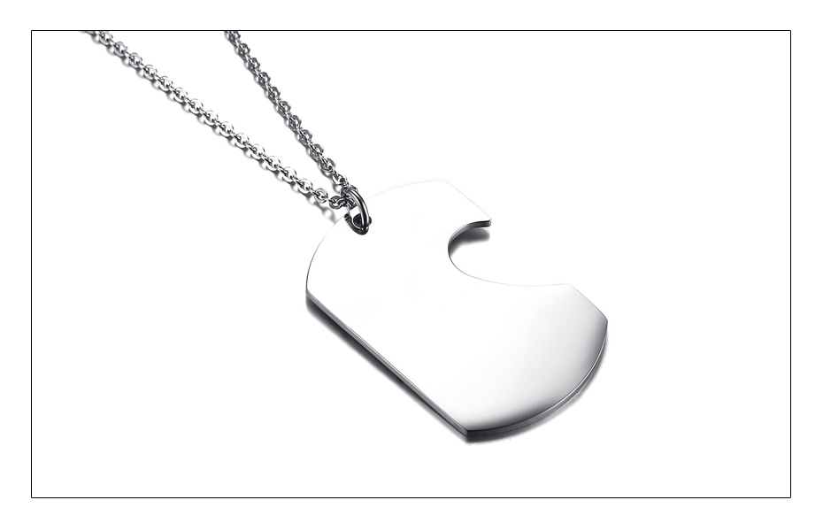 Meaeguet Personalized Stainless Steel Couple Heart ID Necklace Pendant Wedding Jewelry For Women Men Free Laser Engrave Collar (5)