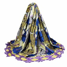 African Wax Prints Fabric 2017 Fashion African Lace Fabric Nigerian Wedding High end African wax Lace Fabric  L16122802