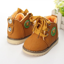 British classic fashion style children's boots burst Spring fall baby children 's shoes winter baby baby snow boots XZ1