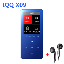 MP4 Player 8G Speaker Metal with Built-in Speaker hifi player hifi Speaker fm IQQ X09 mp-4 Music mp4 Player 8gb mp 4 walkman(China)
