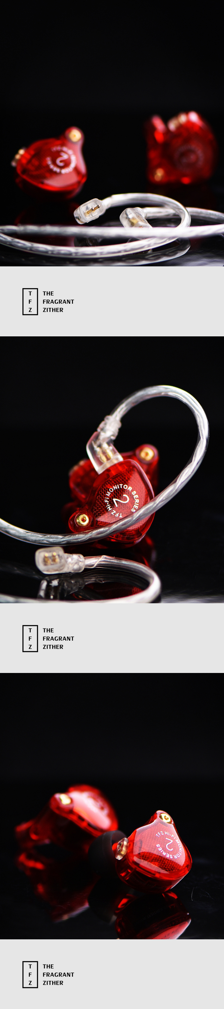 The Fragrant Zither TFZ Series 2 S2 HIFI In-Ear-Monitor Earphones