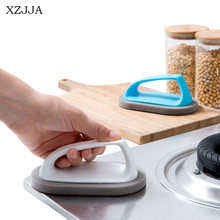 XZJJA Creative Stainless Steel Kitchen Metal Rust Remover Cleaning Detergent Stick Wash Brush Pot Cookers Cleaning Tools(China)