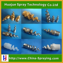 Spiral nozzle used for the flue gas desulphurization and dust removal ,fireproof and firefighting,spray cleaning