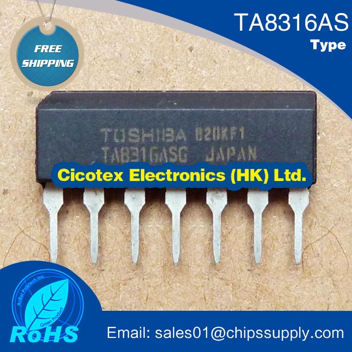 Electronic components TA8316AS TA8316 S TA8316ASG electromagnetic furnace ic chip(China)
