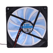 12V 4Pin 140mm 140x25mm Brushless Computer Case Fan Cooler Cooling Fans Sleeve Bearing Heat Sink New
