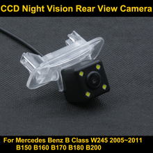 Rear View Reverse Camera for Mercedes Benz A B Class B200 Car CCD night vision Parking backup camera(China)