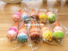 Cute style colors Ice cream squishy charm / mobile phone strap / Wholesale