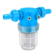 "Pressure Washer Water Filter In Line 3/4"" 20mm Hose Inlet Quick Connect 100 Mesh High Pressure Cleaning Machine Parts"