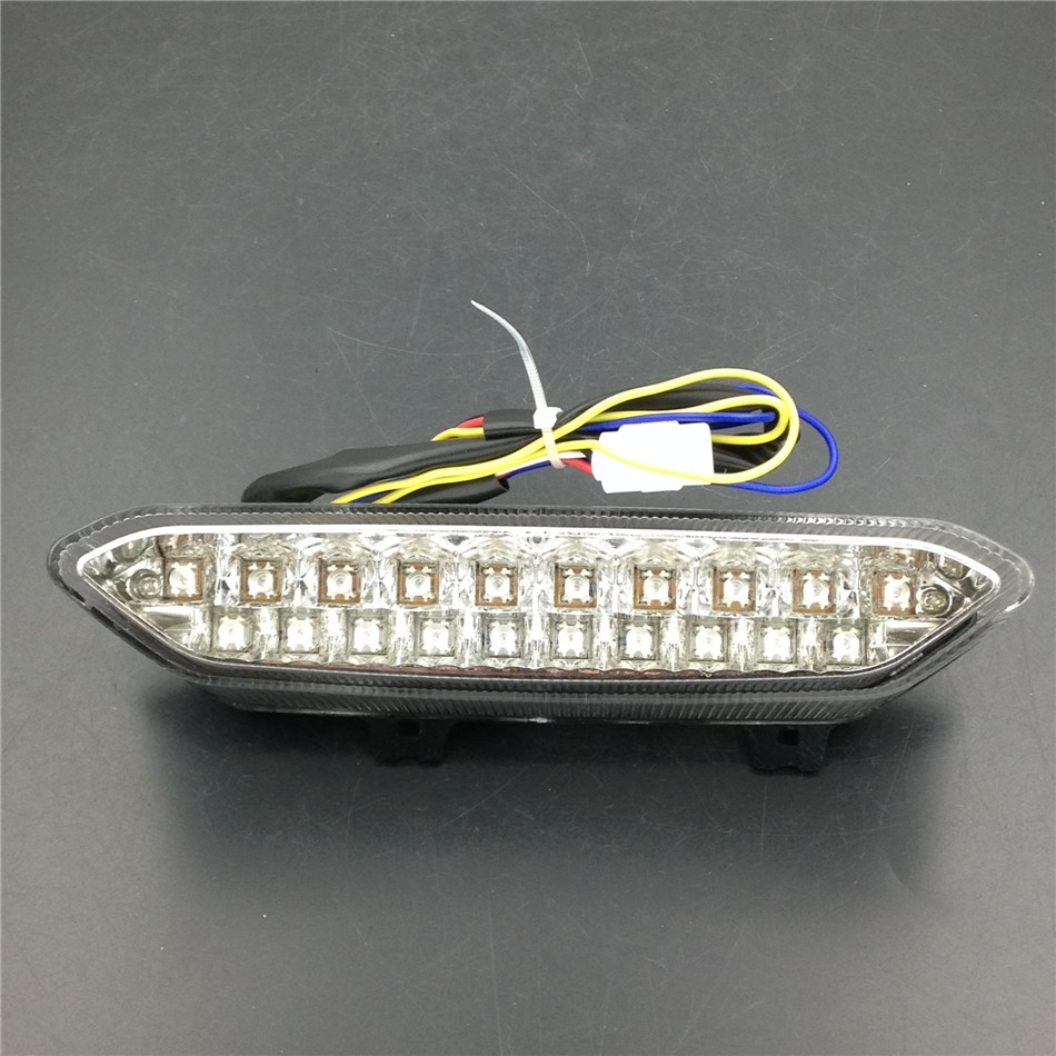 Aftermarket free shipping motorcycle parts LED Tail Brake Light Turn Signals for 2002 2003 Yamaha YZF R1 YZF-R1 YZFR1 Clear<br>