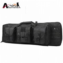 1000D Tactical Molle Duel Rifle Gun Carry Backpack For Shotgun Airsoft Combat Hunting Gun Protection Case Bag#(China)