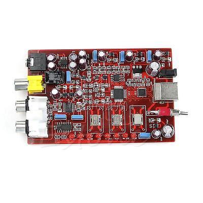 XMOS PCM5102 TDA1308 USB DAC 384KHZ/32bit YJ USB Encoder Board<br>