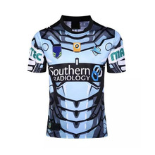 Sharks rugby Shirts, new 2017 men's adult Rugby clothing, sharks Rugby Jersey ,Sport Rugby Jersey S-3XL Free shipping