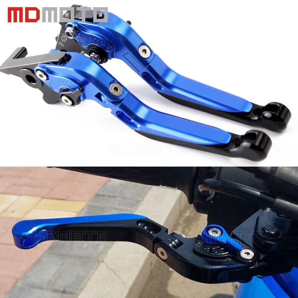 MDMOTO for suzuki GSXR 600 GSXR 750 GSXR1000 GSX R 1000 Motocross CNC 3D Adjustable Brake Clutch Levers Motorcycle Brakes Lever<br>