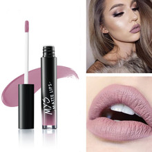 New arrival MYS makeup Liquid tint Lipstick Hot Sexy Colors Lip batom Matte Lipstick Waterproof Long Lasting Lip Gloss Lip Kit(China)