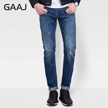 PROFESSIONAL JEANS STORE Men Jeans Plus Size Motorcycle Red Selvage Denim Jeans For Man Homme Designer Brand Clothing