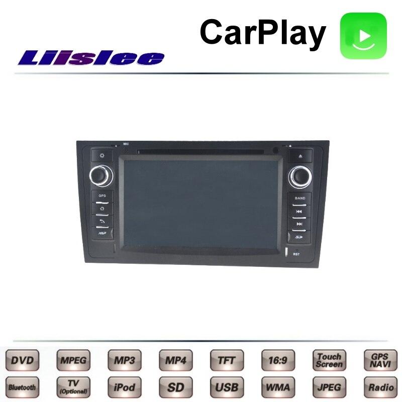 For Audi A6 C5 4B 1997~2004 LiisLee Car Multimedia TV DVD GPS Radio Carplay Original Style Navigation Navi 4