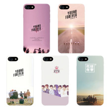 New Arrival BTS Forever Young Special Album Cell Phone Cases Covers white hard cases for Iphone 7 phone cover
