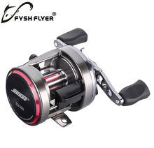 Baitcasting Fishing Reels, The Unique Taper Design ,Carber Fiber Drag Washers, The Magnetic Brake, 7+1BB, Stainless Steel Shaft(China)