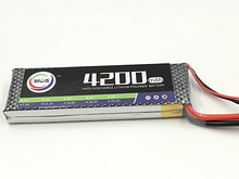 MOS 2S RC lipo battery 7.4v 4200mah 40c for rc airplane quadcopter lithium polymer battery