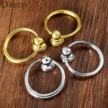 DRELD 2Pcs Antique Furniture Handles Vintage Cabinet Knob and Handle Kitchen Cabinet Drawer Ring Pull Handles Furniture Fittings