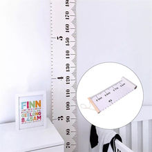 Wooden Wall Hanging Baby Child Kids Growth Chart Height Measure Ruler Wall Sticker for Kids Children Room Home Decoration(China)