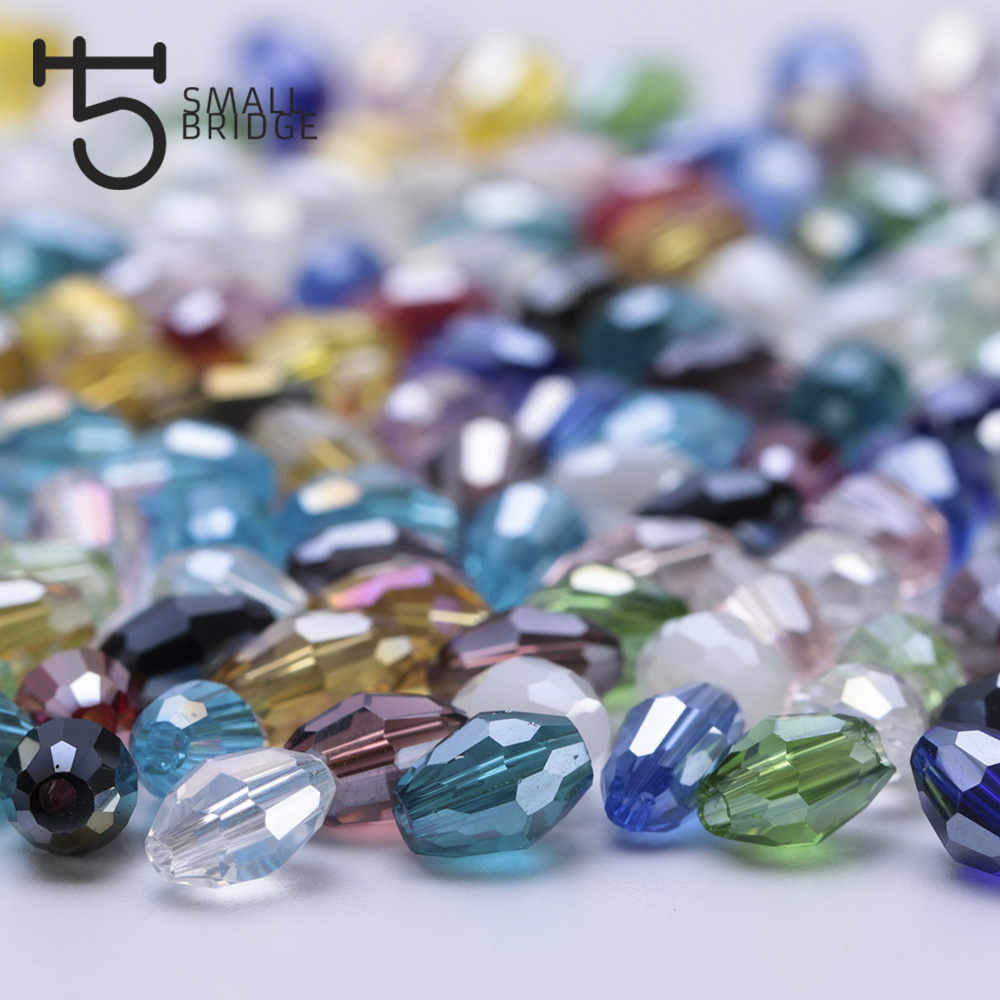 Oval Glass Beads (3)