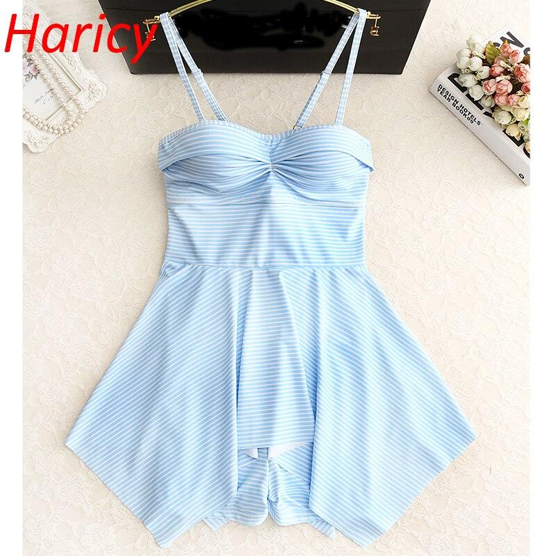 one piece swimsuit striped swimwear women plus size swimsuit baths one piece swimming suit for women swimwear<br>