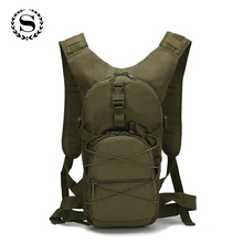 3P Outside Military Army Green Backpack Waterproof Oxford Casual Camouflage Travel Bag Women Traveling Mochila ZZ492(China)