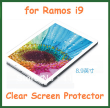 "5pcs Clear Screen Protector Guard Film for Ramos i9 Tablet PC 8.9"" Size 231x145mm No Retail Packaging"
