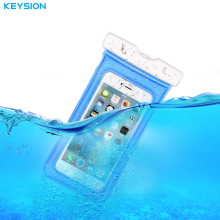 KEYSION Waterproof Bag With Underwater Pouch Phone Case For iPhone X 8 8 Plus 7 6s Sport Arm Band Case For Samsung S8 S7 S7edge(China)