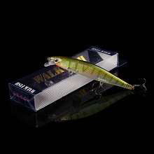 WALK FISH 1PCS 2018 New Model Fishing Lures Laser Minnow Hard Bait 110mm 13g Slowly Sinking Quality Professional Crankbait(China)