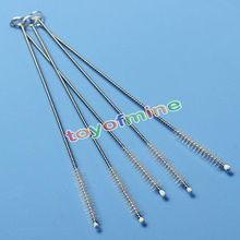 2/5/10PCS  Fashion Nylon stainless steel Straw Cleaners Cleaning Brush Drinking Pipe feeding bottles Cleaners