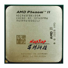 AMD Phenom II X4 965 3,4 ГГц Quad-Core Процессор процессор HDZ965FBK4DGM разъем AM3(China)