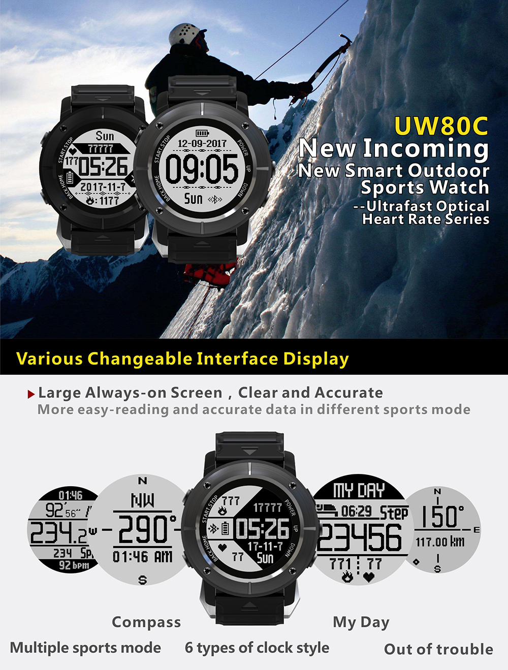 UW80C sport watch 1