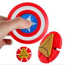 Buy Handspinner fidget spinner toys captain America 2017 New figet spinner cool fidget spiner stres finger spinner captain America for $2.43 in AliExpress store
