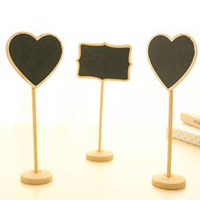 5pcs/lot Creative Small Blackboard Party Direction Signs Vertical Message Board Wedding Party Seat Brand Reusable Party Supplies