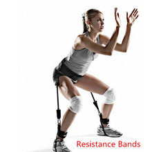 Resistance Bands Trainer Rope Crossfit Leg Training Exercise Expander Band Fitness Equipment Basketball Volleyball Pull Rope