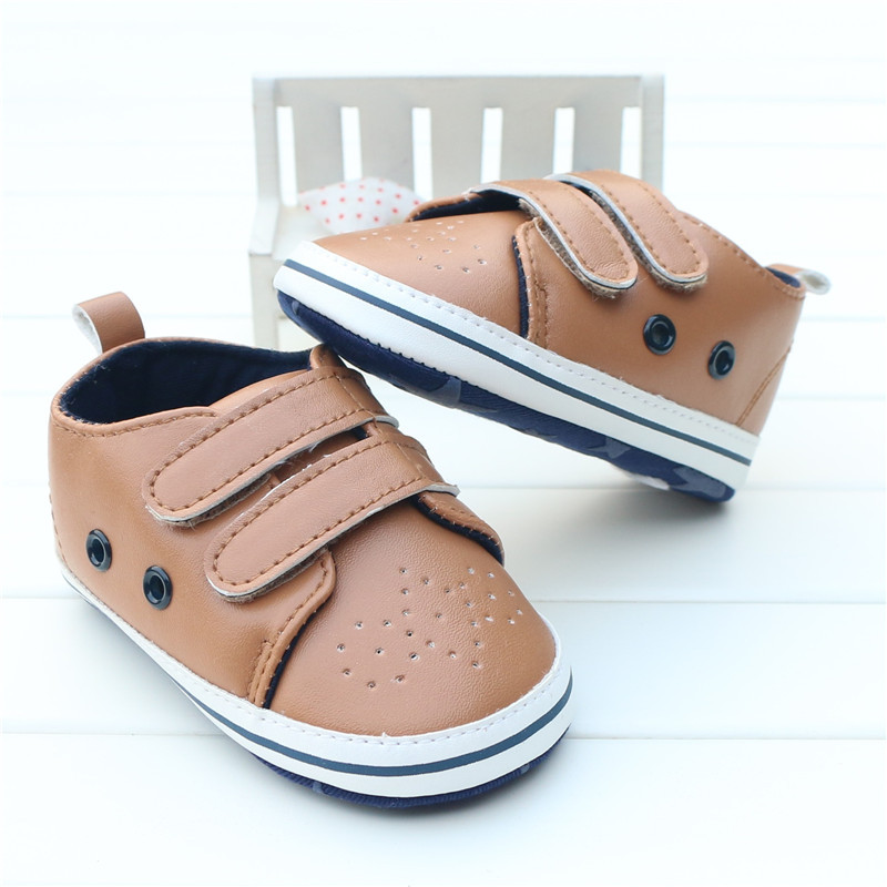 Leisure Newborn Baby Boy Shoes First Walkers PU Leather Baby Moccasins Infant Toddler Girl Sneakers sapatos infantis menino <br><br>Aliexpress