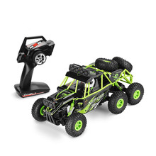 WLtoys 18628 Remote Control Car 1/18 2.4G 6WD Electric Toy Cars Model Off-Road Climbing RC Buggy Outdoor Racing Car(China)