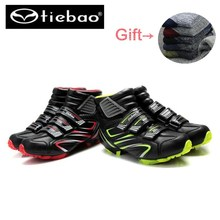 TIEBAO zapatillas deportivas hombre Bicycle Cycling Shoes Men sneakers Women winter  MTB Mountain Bike boots Athletic Shoes