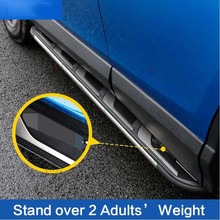 Aluminum Fit for Toyota All New RAV4 2016 2017 Side Step Running Board Nerf Bar Car-Styling New Style(China)