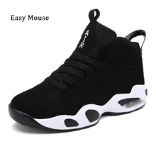 2017 New Brand Unisex Mens Trianers Basketball Shoes Air Men Women Breathable Sneaker Flats Shoes Couple Sport Shoes Plus Size(China)