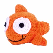 Infant Baby Hat Newborn Crochet Cute Goldfish Pattern Cap Knitting Hat Costume Photography Prop Sombrero