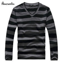 2017 Man Fashion Designer Brand Clothes Mens Jumper V Neck Male Sweaters Polo Pullover L-4XL Size 25(China)