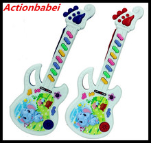 Actionbabei High Quality Electronic organ Toy guitar baby animal musical instrument musical keyboard children toys(China)