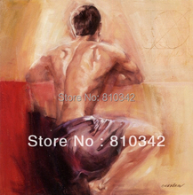 Free shipping ornament art reproduction nude oil painting from handmade modern art painting