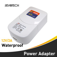 Outdoor Waterproof CCTV DC 12V 2A Security Camera Power Supply Adapter Security Surveillance Cameras Fitting