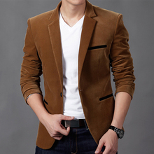 NEW Mens Fashion Brand Blazer British's Style casual Slim Fit suit jacket male Blazers men coat Terno Masculino Plus Size 4XL(China)